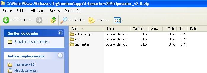 Le Web B@zar > Tripmaster